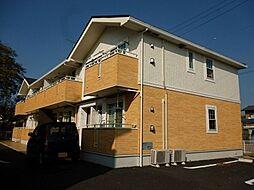 茨城県下妻市下妻戊の賃貸アパートの外観