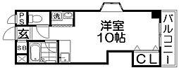セゾン・ド香里[3階]の間取り