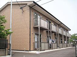 愛知県一宮市馬見塚の賃貸アパートの外観