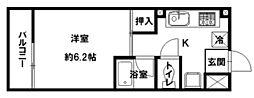 パレット11[2階]の間取り