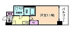 セレニテ福島calme[6階]の間取り