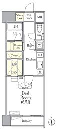 OUAL戸越[2階]の間取り