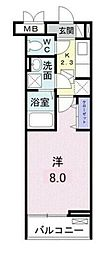 JR京浜東北・根岸線 浦和駅 バス15分 バス停下車 徒歩4分の賃貸アパート 3階1Kの間取り