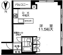 パソナール博多[1107号室]の間取り
