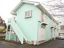 神奈川県伊勢原市笠窪の賃貸アパートの外観
