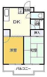 グリーンヴァレー松澤[2階]の間取り