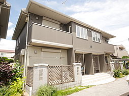 神奈川県厚木市愛甲2丁目の賃貸アパートの外観
