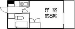 ドミールセッテ国分寺[7階]の間取り
