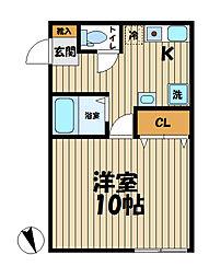 YAMASHIN・笛田[205号室]の間取り