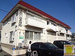千葉県船橋市西船3丁目の賃貸アパートの外観