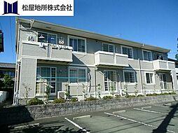 愛知県豊橋市忠興2丁目の賃貸アパートの外観
