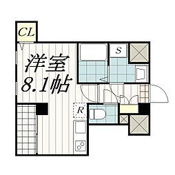IBIS(アイビス)[3階]の間取り