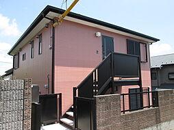 神奈川県川崎市麻生区東百合丘2丁目の賃貸アパートの外観