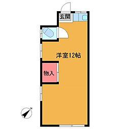 栄和荘[103号室]の間取り