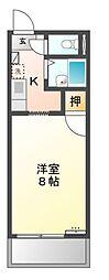 サープラス石田[2階]の間取り