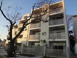 神奈川県横浜市神奈川区栗田谷の賃貸マンションの外観