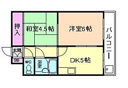 ブリリアンマンション[8階]の間取り