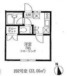 エクシブ千駄木[2階]の間取り
