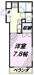 埼玉県入間市豊岡1丁目の賃貸マンションの間取り