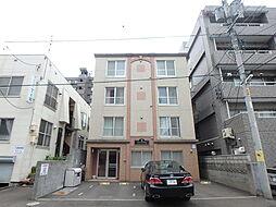 北海道札幌市中央区南二十一条西9丁目の賃貸マンションの外観