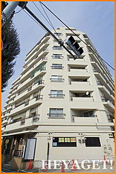 東京都立川市錦町3丁目の賃貸マンションの外観