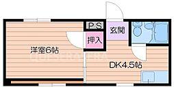 都島ニューハイツ[2階]の間取り