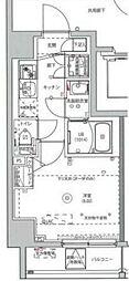 MAXIV川崎 10階1Kの間取り