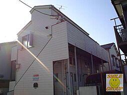 千葉県市川市大和田5丁目の賃貸アパートの外観