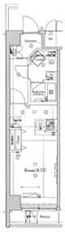 ラフィスタ錦糸町II(ラフィスキンシチョウツー) 3階ワンルームの間取り