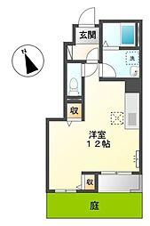 愛知県豊田市高上1丁目の賃貸アパートの間取り