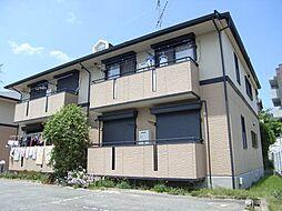 大阪府箕面市坊島2丁目の賃貸アパートの外観