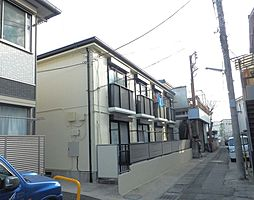 神奈川県川崎市高津区下野毛3丁目の賃貸アパートの外観