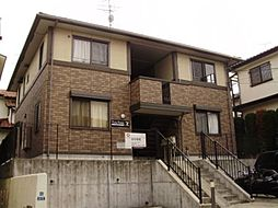 神奈川県川崎市多摩区南生田2丁目の賃貸アパートの外観