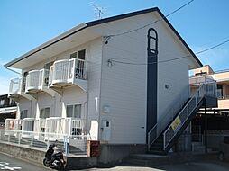 愛知県一宮市猿海道3丁目の賃貸アパートの外観