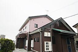 福島県郡山市鶴見坦2丁目の賃貸アパートの外観
