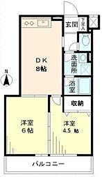 メゾン美羅樹II[3階]の間取り