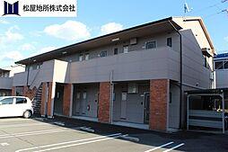 愛知県豊橋市神野新田町字ニノ割の賃貸アパートの外観