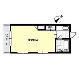 アーバン須玖[3階]の間取り