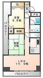 第3コーポHAMADA[2階]の間取り