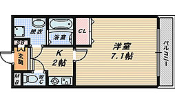 MTクレスホームII[1階]の間取り