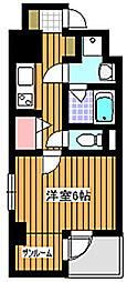 セイコーガーデン成増[4階]の間取り
