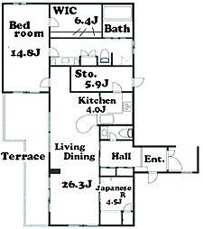 三田グリーンハウス[1階]の間取り