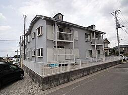 埼玉県草加市長栄3の賃貸アパートの外観