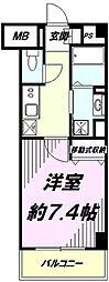 東京都八王子市西片倉3の賃貸マンションの間取り