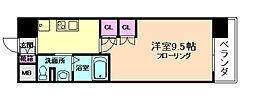 コンフォリア阿波座[10階]の間取り