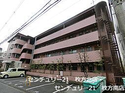 シャンテー香里ヶ丘Ⅲ[2階]の外観