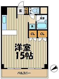 メゾン北鎌倉[302号室]の間取り