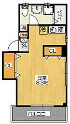 Casa Pico[3階]の間取り