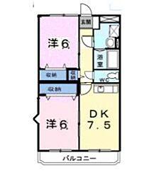 アストリアスマンション[2階]の間取り