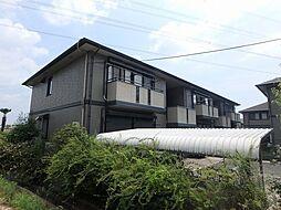 兵庫県宝塚市口谷東1丁目の賃貸アパートの外観